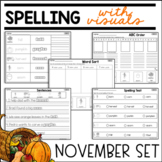 SPELLING WITH VISUALS FOR SPECIAL EDUCATION