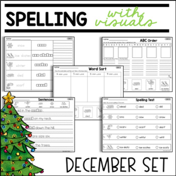 SPELLING WITH VISUALS FOR SPECIAL EDUCATION OR ELL