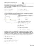 SPH4U - Kinematics and Dynamics Test