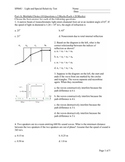 SPH4U - Light and Special Relativity Test