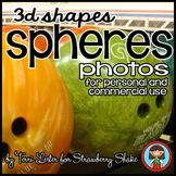 Photos Photographs SPHERES! Real Solid Shapes personal or commercial use