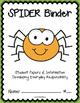 SPIDER Binder {Student Organization Folder}