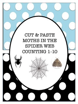 SPIDER CATCHING MOTH COUNTING SHEETS & BOOKLET