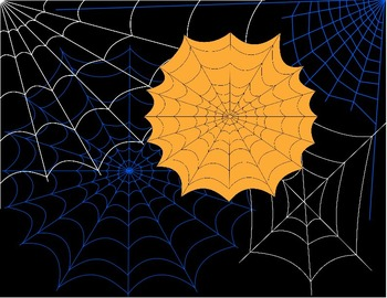 SPIDER CLIP ART * COLOR AND BLACK & WHITE