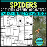 SPIDERS   Graphic Organizers for Reading   Reading Graphic
