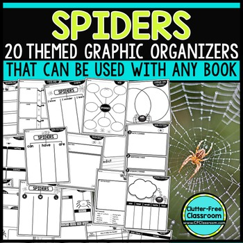 SPIDERS | Graphic Organizers for Reading | Reading Graphic