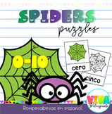 SPIDERS PUZZLES IN SPANISH
