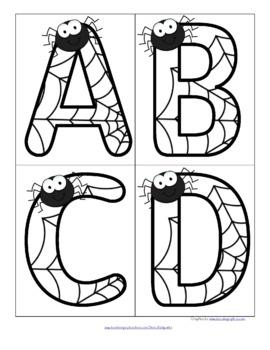 SPIDERS Alphabet