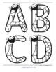 SPIDERS Alphabet Large Letters, 2 Sets