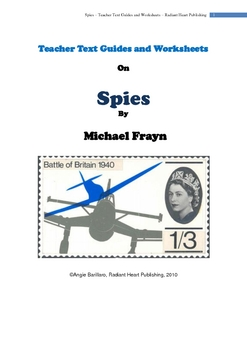 SPIES - MICHAEL FRAYN - WORKSHEETS