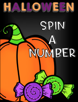 SPIN A NUMBER - Halloween