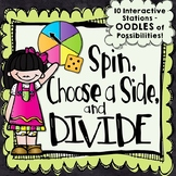 10 Division Centers | Division Stations | No Prep Math Games