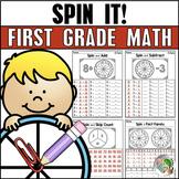 SPIN IT! First Grade Math Fluency