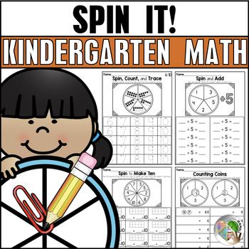 SPIN IT! Kindergarten Math Fluency