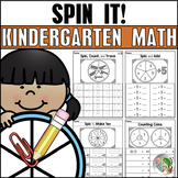 SPIN IT! Kindergarten Math Fluency