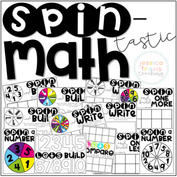SPIN-tastic Math! {Number Sense to 10}