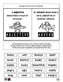 SPIRAL Adjectives & Adverbs