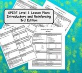 SPIRE 64 Lesson Plans and BONUS spelling tests for 3rd Edi