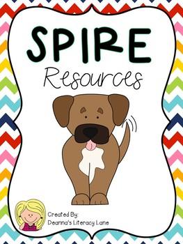 SPIRE Rainbow Alphabet Strip and Keyword Cards
