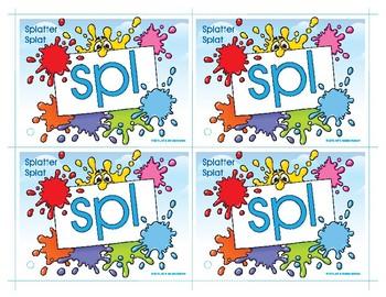 SPL (Splatter Splat) Blend Buddy Card