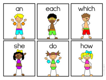 Sight Word Games-Summer