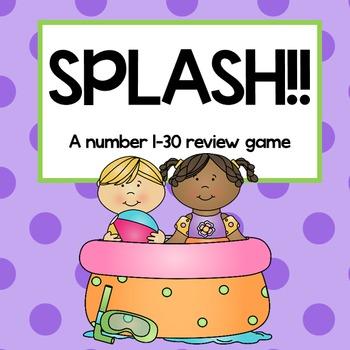 SPLASH!~ A number recognition game (1-30)