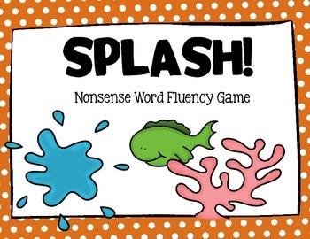 SPLASH Nonsense Word Fluency Game