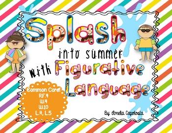 SPLASH into summer with Figurative Language!