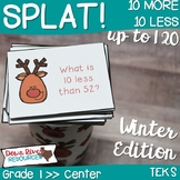 SPLAT! 10 More 10 Less than a Number up to 120 Math Center