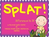 SPLAT- A Fly Swatter Game of Differences to 20