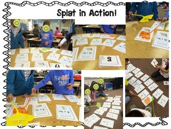 SPLAT- A Fly Swatter Game of  Dividing by 1