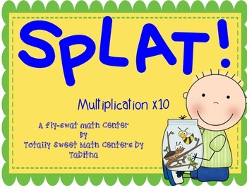 SPLAT- A Fly Swatter Game of Multiplying by 10