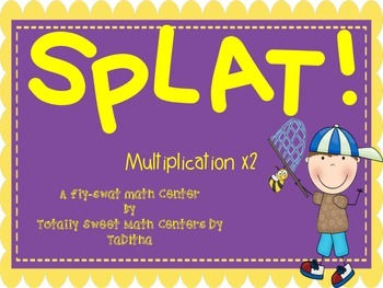 SPLAT- A Fly Swatter Game of Multiplying by 2