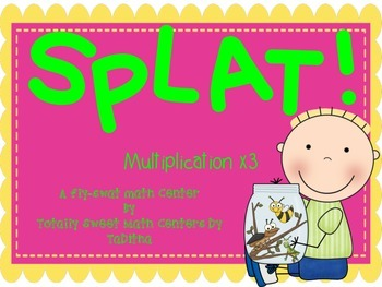 SPLAT- A Fly Swatter Game of Multiplying by 3