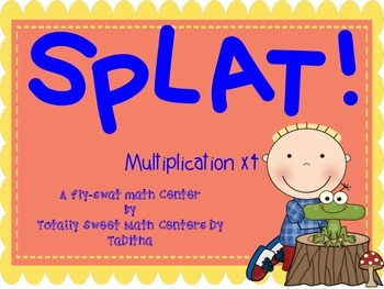 SPLAT- A Fly Swatter Game of Multiplying by 4