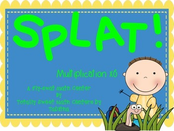 SPLAT- A Fly Swatter Game of Multiplying by 6