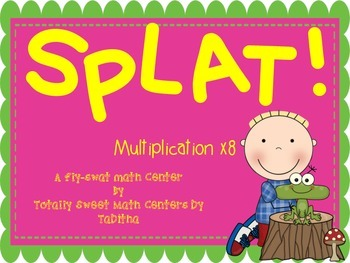 SPLAT- A Fly Swatter Game of Multiplying by 8