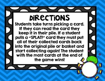 SPLAT! A Sight Word Game