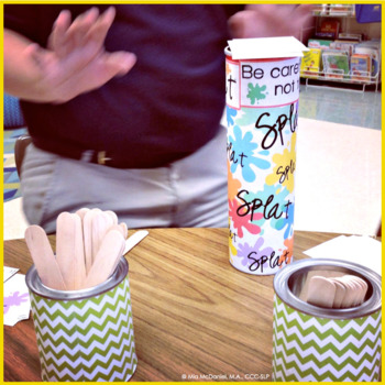 Articulation SPLAT!! A speech therapy game for /s/, /z/, & /s/ blends