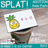 SPLAT! Addition: Basic Facts Interactive Math Center- Summ
