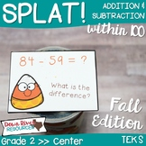 SPLAT! Addition and Subtraction within 100: Using Two-Digi