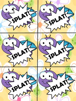 SPLAT! CVCe Word Game