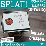 SPLAT! Compare Two Numbers up to 120 Math Center- Comparis