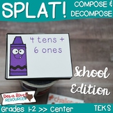 SPLAT! Compose and Decompose Numbers up to 120 Center- Bac