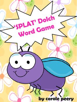 Dolch Word Games SPLAT!