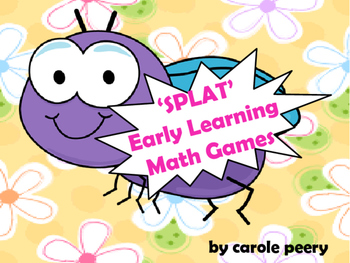 SPLAT! Early Learning Math Games Jr.