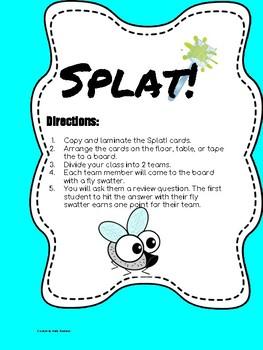 SPLAT! Essentials Review Game