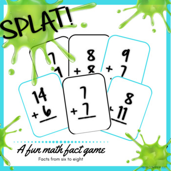SPLAT! Facts 6-8 Addition sums to 20