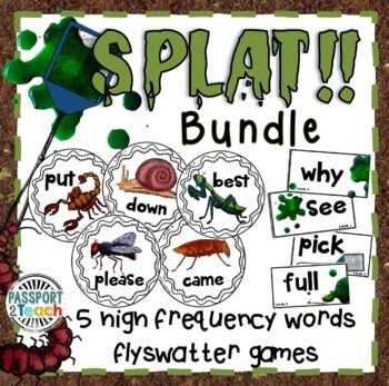 SPLAT! GAME BUNDLE for ALL Dolch Sight Words