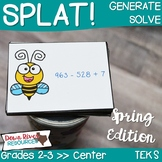 SPLAT! Generate & Solve Addition & Subtraction within 1,00
